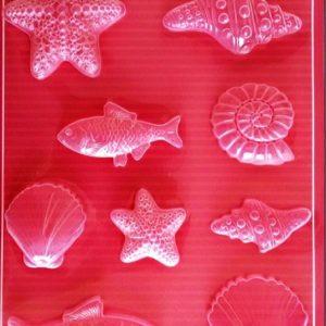 Εύκαμπτο Καλούπι για Σαπούνι-Γύψο 5002255 - 21x29.7cm - Μικρά Ψάρια