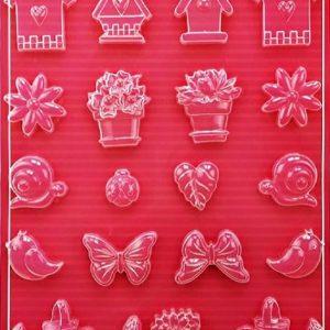 Εύκαμπτο Καλούπι για Σαπούνι-Γύψο 5002284 - 21x29.7cm - Σπιτάκια