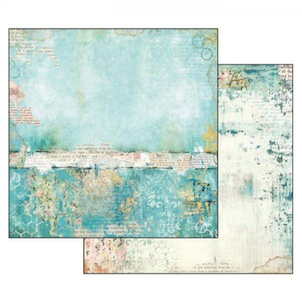 Χαρτί Scrapbooking 5002316 Stamperia Διπλής Όψης - Wonderland Texture - 31x30cm
