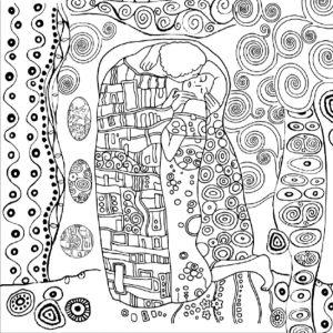 Ριζόχαρτο Χαρτοπετσέτας 5002374 - Klimt - 50x50cm
