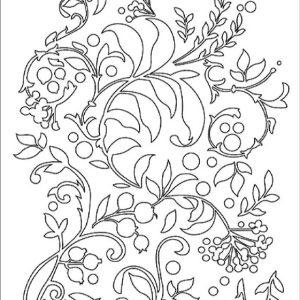 Εύκαμπτο Καλούπι Stamperia 5002552 - A5 - Κλαδιά & Λουλούδια