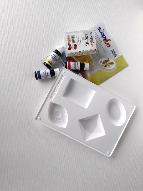 Σετ Καλούπι-Σαπούνι και 3 Χρώματα 51009955100995