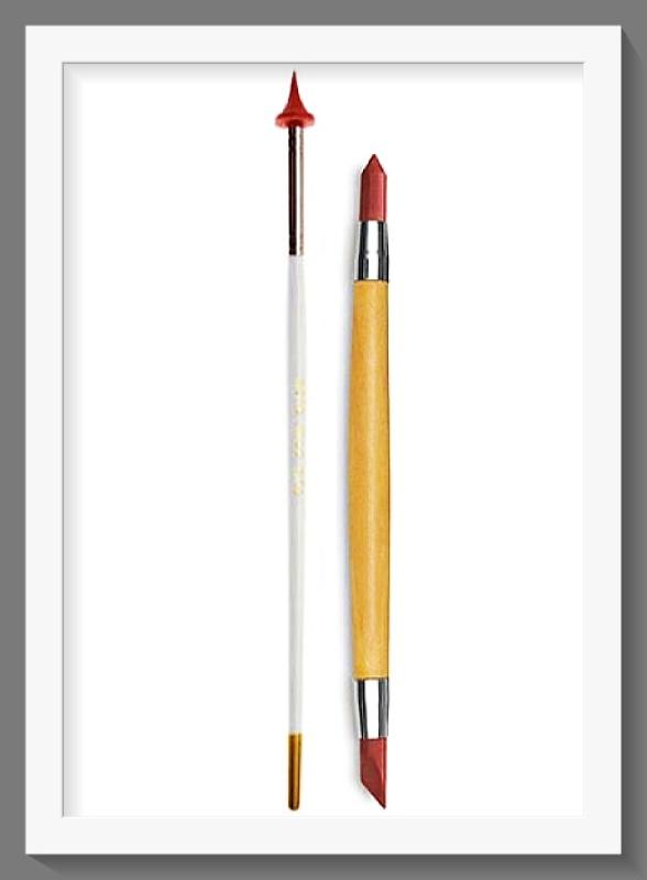 Σετ 2 Εργαλεία 7400035 Wipe Away Tool με Ελαστικές Μύτες
