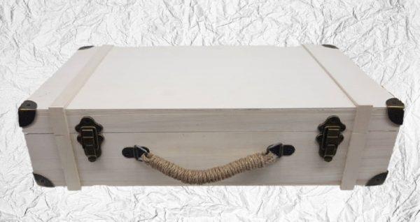 Ξύλινη Βαλίτσα DF00479 54x30x14cm
