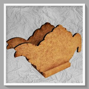 Ξύλινη Θήκη για Χαρτοπετσέτες DF00790  19x11cm
