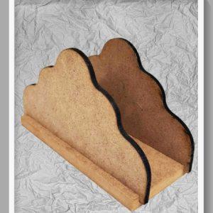 Ξύλινη Θήκη για Χαρτοπετσέτες DF00794  10x13x6cm