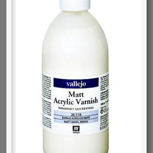 Μόνιμο Ακρυλικό Βερνίκι Mατ VAL28518 Vallejo 500ml