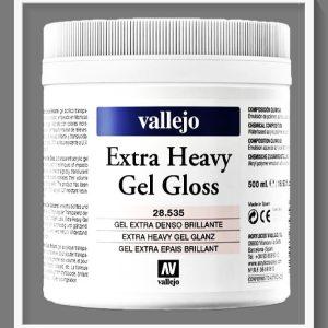 Vallejo VAL28535 Extra Heavy Gel Gloss 500ml