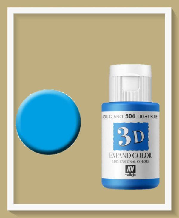 Vallejo Expand Colour 504 Light Blue