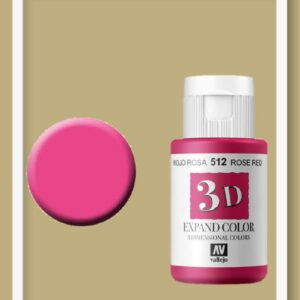 Vallejo Expand Colour 512 Rose Red