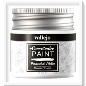 Vallejo Carrot Cake Matt Acrylic Paint 401 Peaceful White
