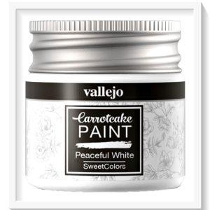 Vallejo Carrot Cake Matt Acrylic Paint 401 Peaceful White