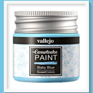 Vallejo Carrot Cake Matt Acrylic Paint 402 Baby Blue