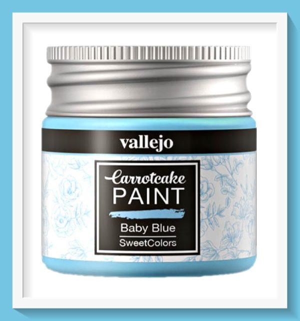 Vallejo Carrot Cake Matt Acrylic Paint 402 Baby Blue