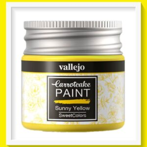 Vallejo Carrot Cake Matt Acrylic Paint 403 Sunny Yellow