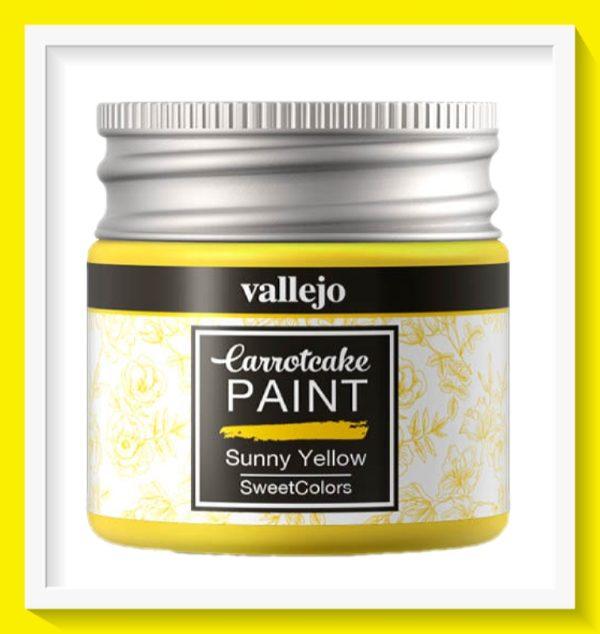 Vallejo Carrot Cake Matt Acrylic Paint 403 Sunny Yellow