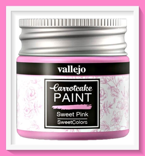 Vallejo Carrot Cake Matt Acrylic Paint 404 Sweet Pink