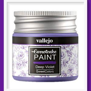 Vallejo Carrot Cake Matt Acrylic Paint 405 Deep Violet