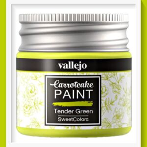 Vallejo Carrot Cake Matt Acrylic Paint 407 Tender Green