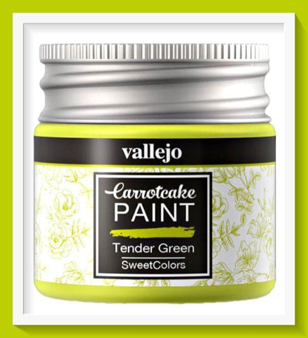 Vallejo Carrot Cake Matt Acrylic Paint 407 Tender Green