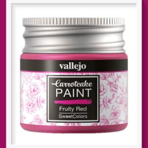 Vallejo Carrot Cake Matt Acrylic Paint 408 Fruity Red