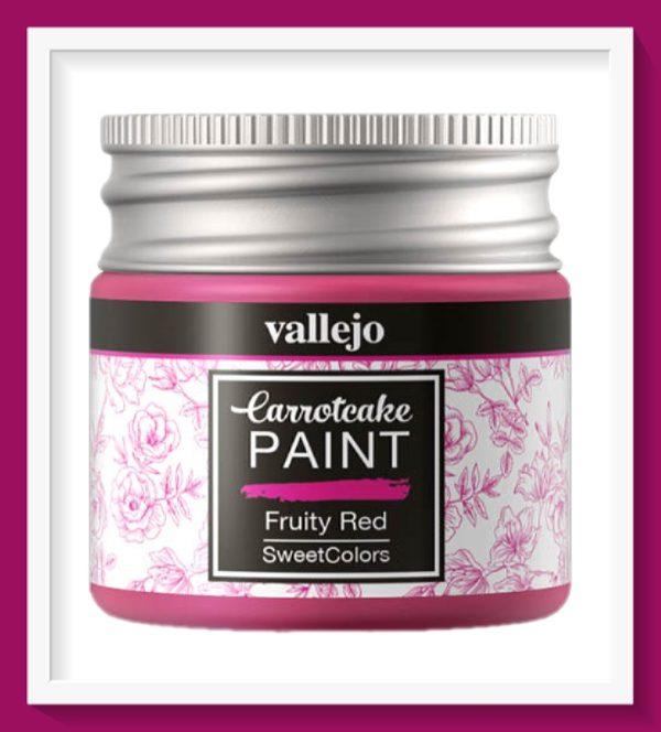 Vallejo Carrot Cake Matt Acrylic Paint 408 Fruity Red
