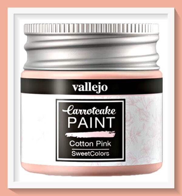 Vallejo Carrot Cake Matt Acrylic Paint 409 Cotton Pink