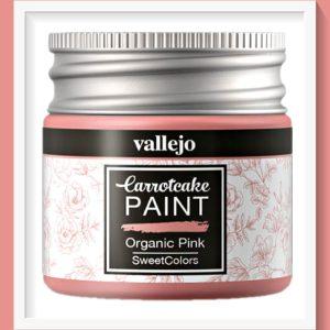 Vallejo Carrot Cake Matt Acrylic Paint 410 Organic Pink
