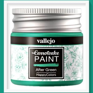 Vallejo Carrot Cake Matt Acrylic Paint 413 After Green