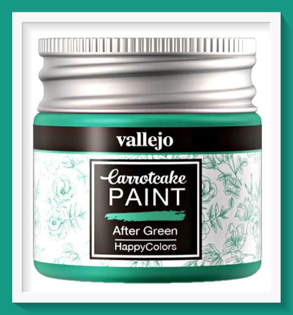Vallejo Carrot Cake Matt Acrylic Paint 413 After Green