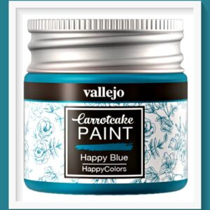 Vallejo Carrot Cake Matt Acrylic Paint 414 Happy Blue
