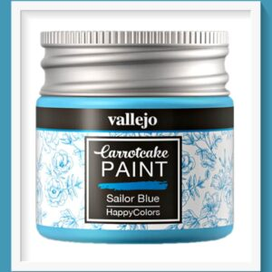 Vallejo Carrot Cake Matt Acrylic Paint 415 Sailor Blue