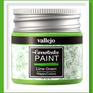 Vallejo Carrot Cake Matt Acrylic Paint 417 Lime Green