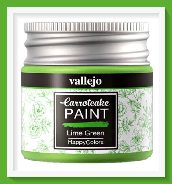 Vallejo Carrot Cake Matt Acrylic Paint 417 Lime Green
