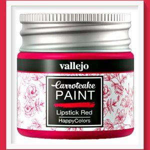 Vallejo Carrot Cake Matt Acrylic Paint 421 Lipstick Red