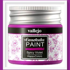Vallejo Carrot Cake Matt Acrylic Paint 422 Spicy Violet