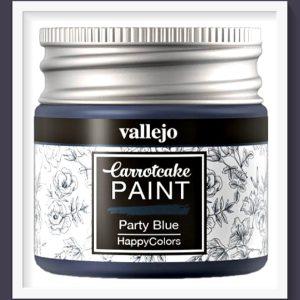 Vallejo Carrot Cake Matt Acrylic Paint 424 Party Blue