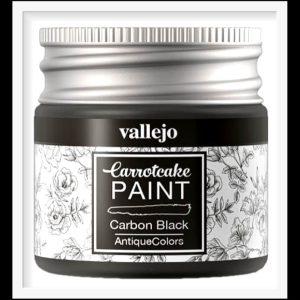 Vallejo Carrot Cake Matt Acrylic Paint 425 Carbon Black