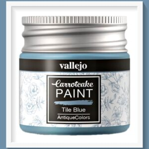 Vallejo Carrot Cake Matt Acrylic Paint 426 Tile Blue