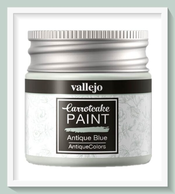 Vallejo Carrot Cake Matt Acrylic Paint 427 Antique Blue