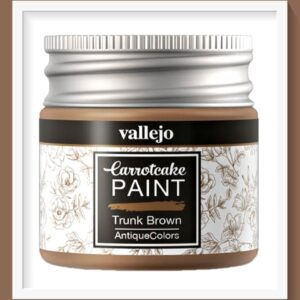 Vallejo Carrot Cake Matt Acrylic Paint 432 Trunk Brown