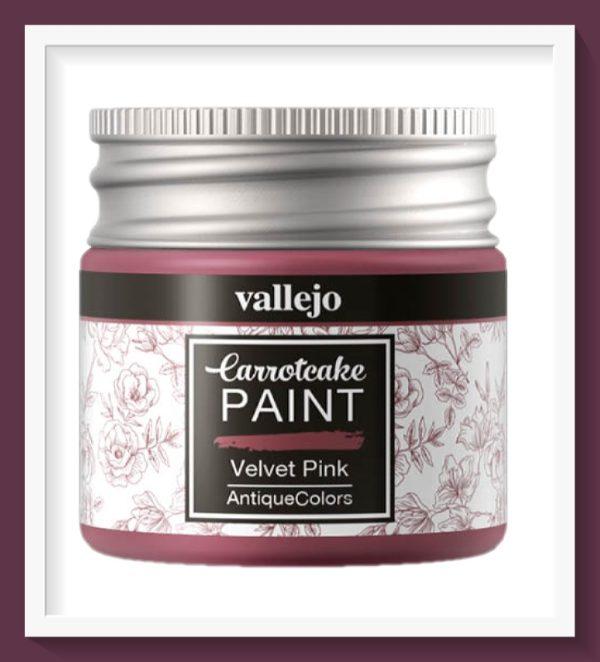 Vallejo Carrot Cake Matt Acrylic Paint 433 Velvet Pink