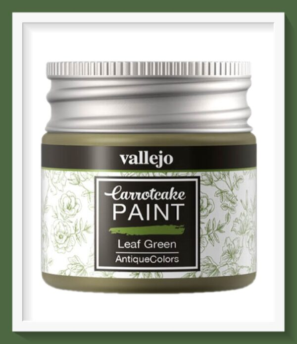 Vallejo Carrot Cake Matt Acrylic Paint 434 Leaf Green