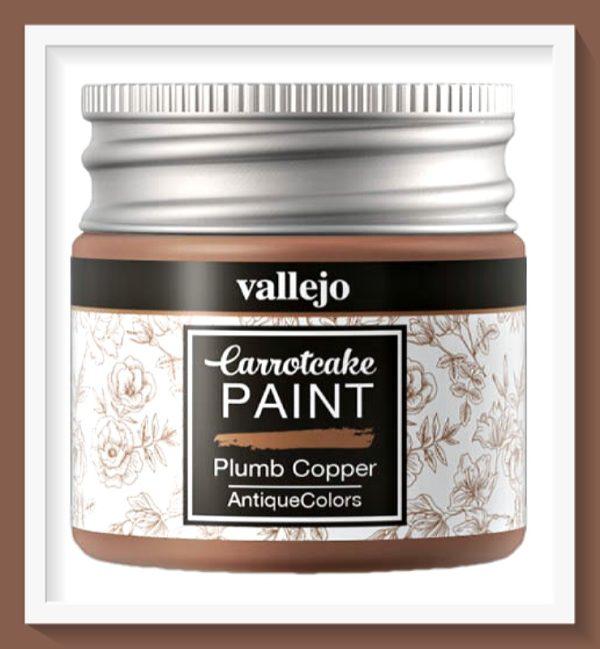 Vallejo Carrot Cake Matt Acrylic Paint 436 Plumb Copper