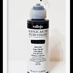Vallejo Acrylic Artist Fluid Colors Ultramarine Violet VAL68413 100ml