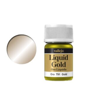 Vallejo Liquid Gold 791 Gold (Alcohol Based)