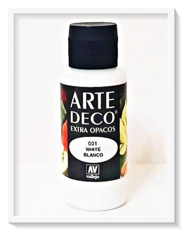Vallejo Arte Deco Color White VAL85001 60m