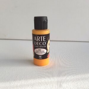 VALLEJO ARTE DECO COLOR DARK YELLOW 009 60ML