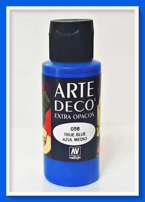 Vallejo Arte Deco Color True Blue VAL85058 60m