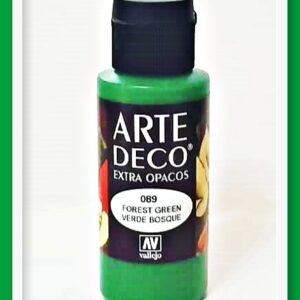 Vallejo Arte Deco Color Forest Green VAL85089 60ml